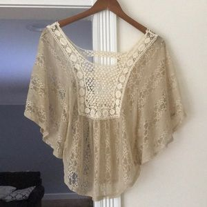 Urban Outfitters Bohemian Lace Top